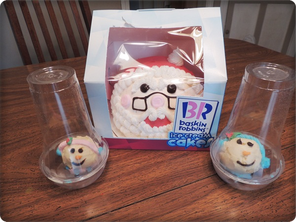 Baskin Robbins Santa Ice Cream Cake