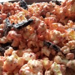 Candy Cane Cookie Popcorn