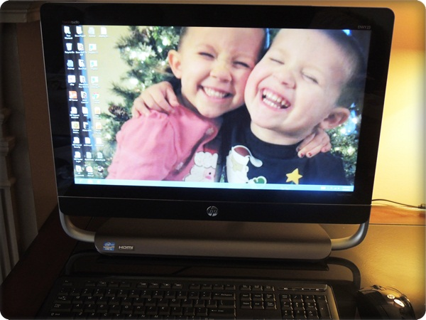 Family Fun With the HP ENVY 23 Touchsmart All-in-One