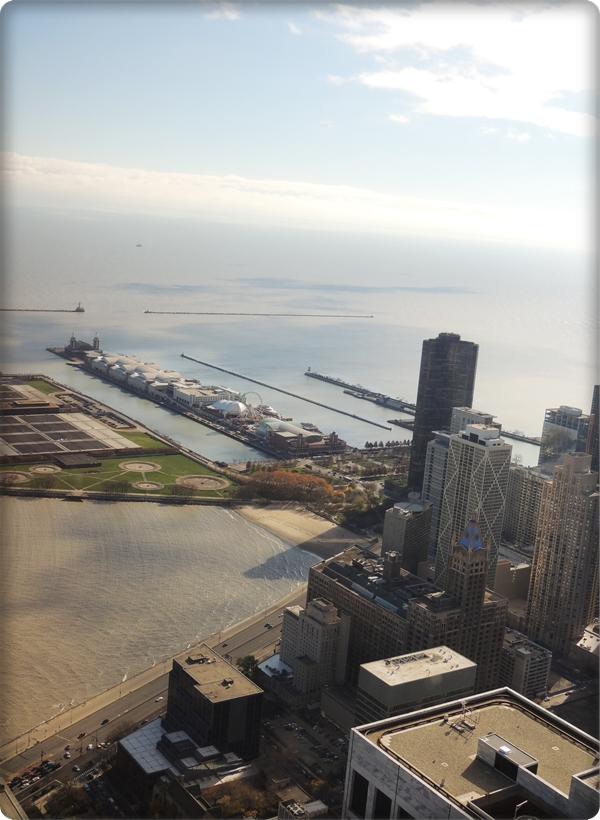 Chicago Navy Pier From John Hancock