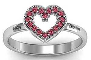 Jewlr Heart Ring