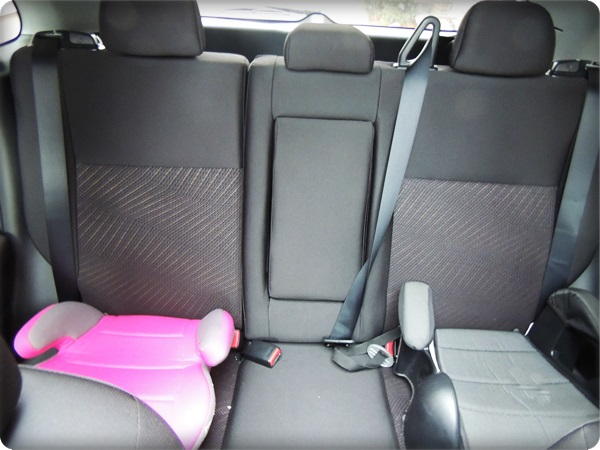 Mitsubishi Outlander Sport Backseat