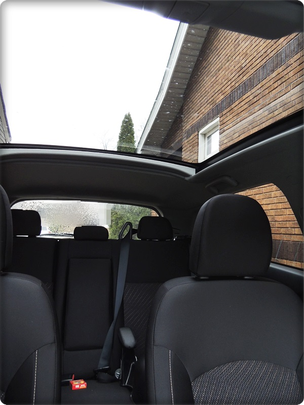 Mitsubishi Outlander Sport Glass Roof