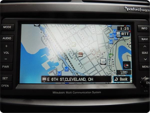 Mitsubishi Outlander Sport Navigation