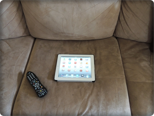 iPad Couch