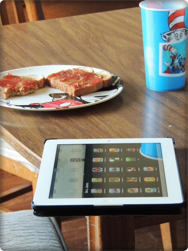 iPad Dining Room