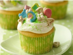 St. Patrick&#039;s Day Cupcakes