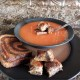 Tomato Soup & Grilled Cheese Croutons
