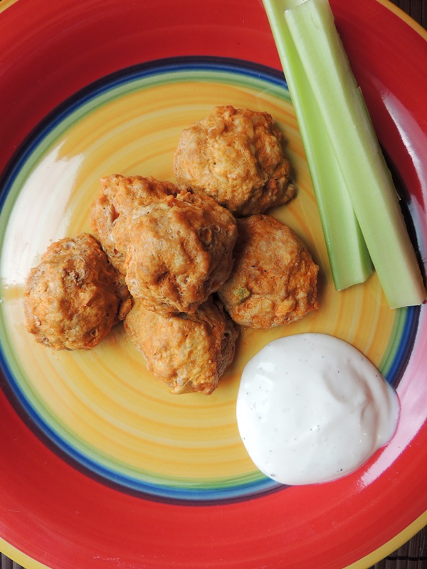 Buffalo Chicken Meatballs Recipe