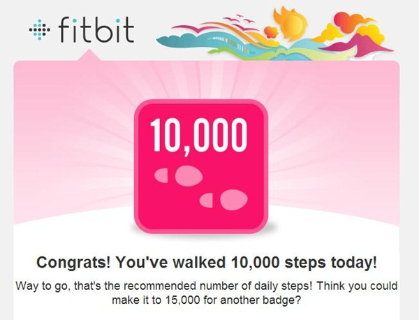 Fitbit 10,000 Steps
