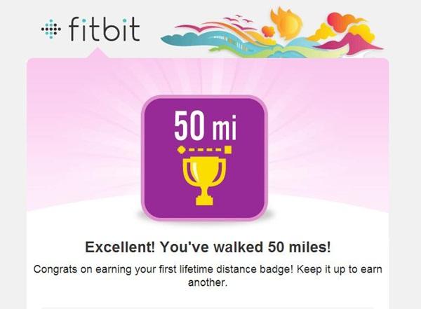 Fitbit 50 Miles