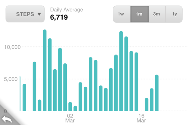 Fitbit Monthly Stats