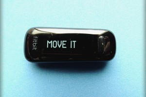 Fitbit One Greeting