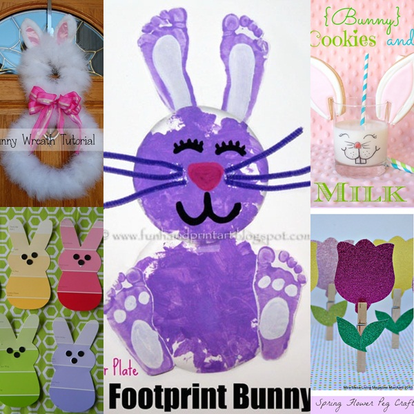 Charming Easter Kid Craft Ideas Part - 4: Fun Easter Crafts For Kids