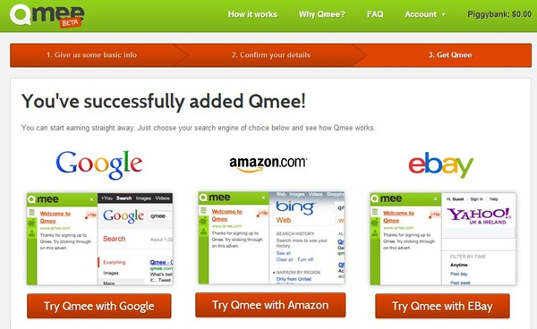 Get Paid To Search Online With Qmee