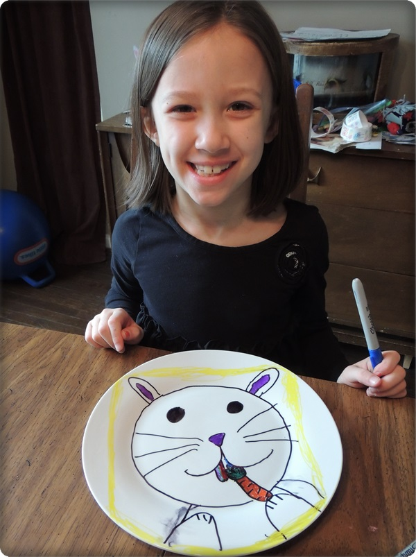 Sharpie Plates Kids Craft