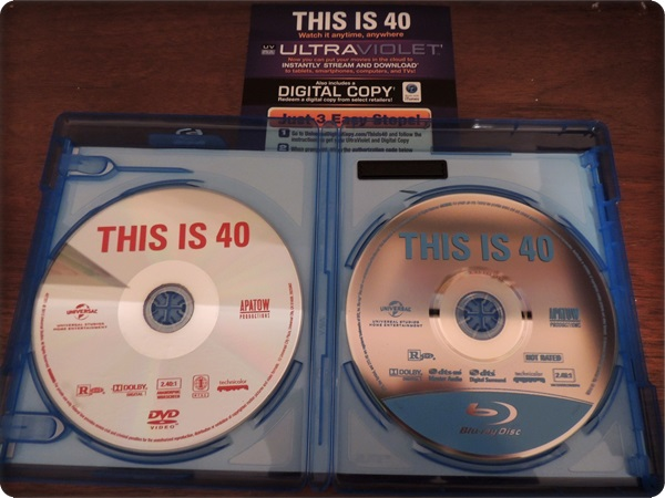 This is 40 Blu-ray Combo
