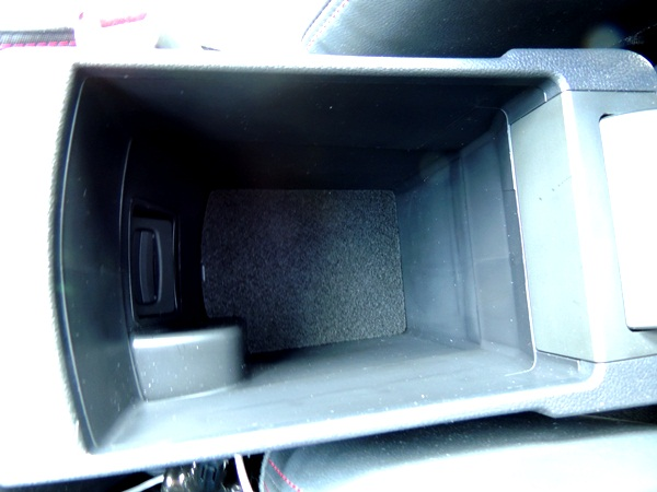 Kia Forte Center Console Storage