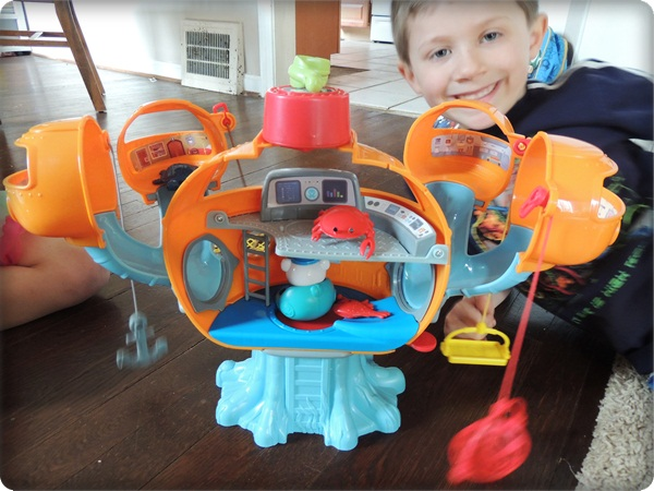 Octonauts Playset Review