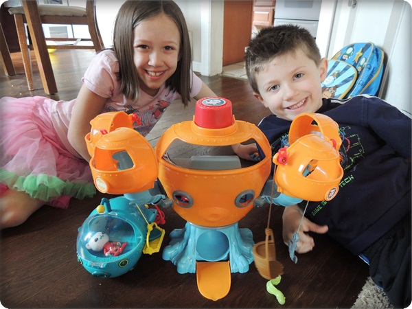 New Octonauats Toys By Fisher Price