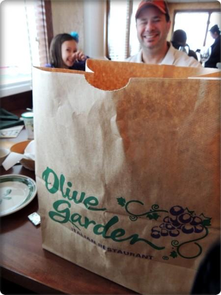 Olive Garden Leftovers