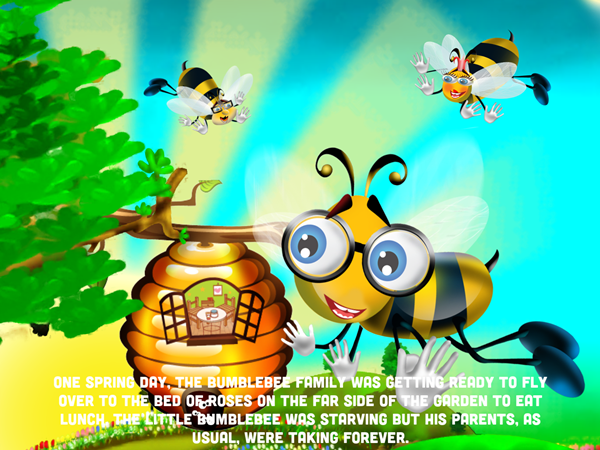 Flight of the Bumble Bee App Read To Me
