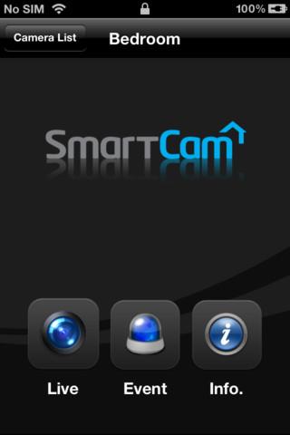 Samsung SmartCam App