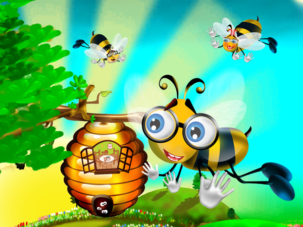 Flight Of The Bumble Bee App Starting Story