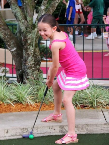 Disney Social Media Moms Fantasia Gardens Golf
