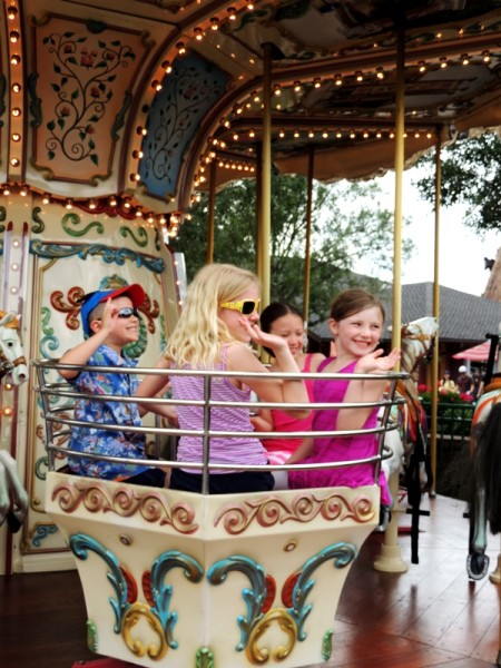 Downtwon Disney Carousel