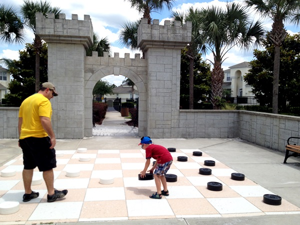 Global Resort Homes Playground Checkers