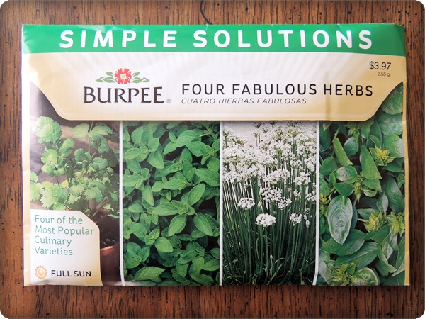 Home Depot Herb Mix