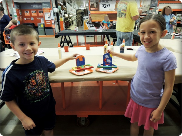 Home Depot Kids Workshop Herb Planters