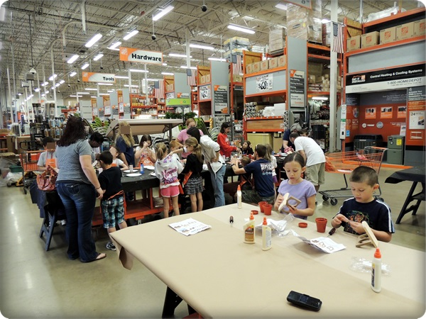 Home Depot Kids Workshop Herb Planter