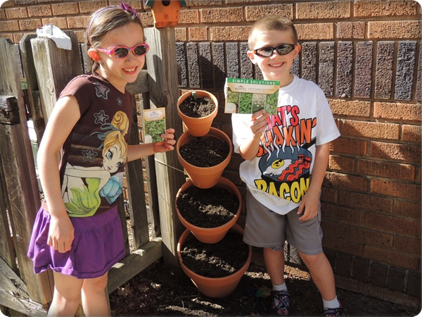 Home Depot Planting Herbs