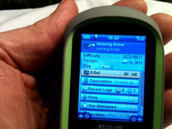 Magellan eXplorist GC GPS Geocache