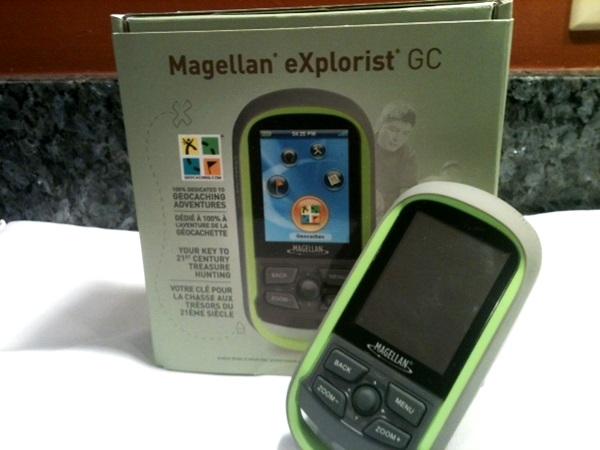Magellan eXplorist GC GPS