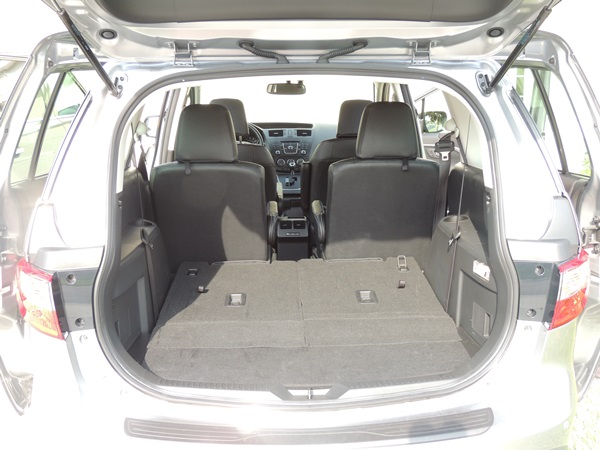 Mazda5 3rd Row Flat