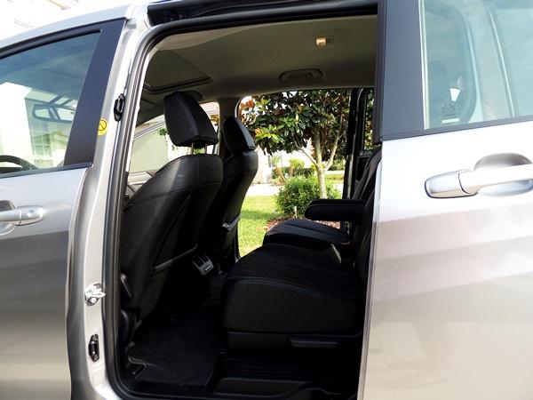 Mazda5 Sliding Rear Doors