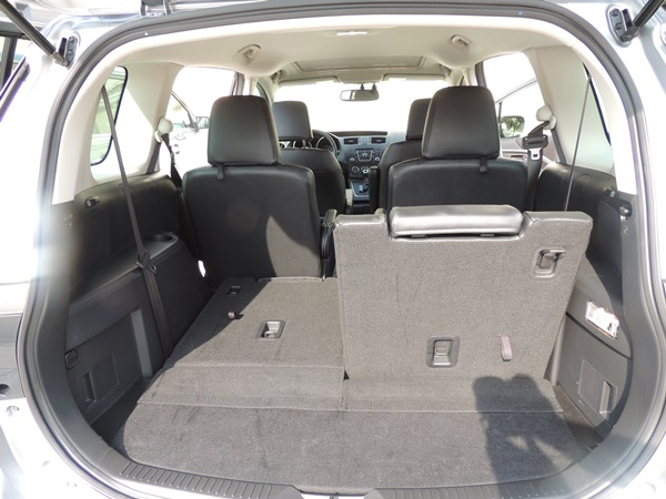 Mazda5 Split 3rd Row