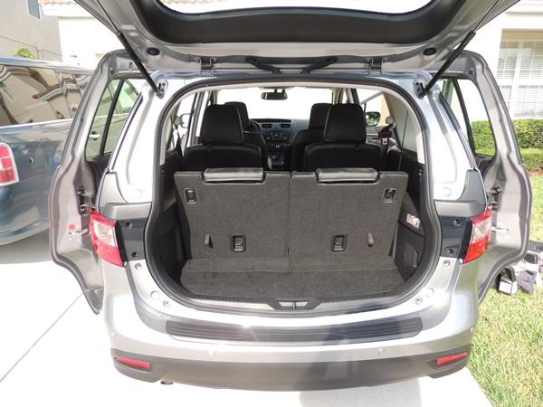 Mazda5 Trunk