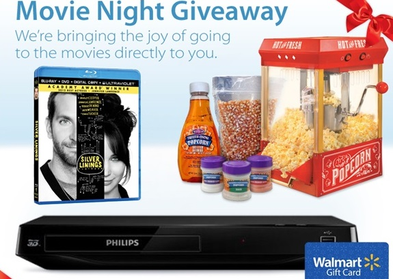 Movie Night Giveaway inc. 3D Blu-Ray Player & More