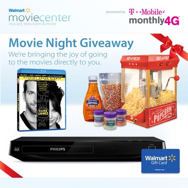 Enter To Win 1 000 Gift Card From Blu Dot: Movie Night In Giveaway Inc. 3D Blu-Ray Player, Walmart GC