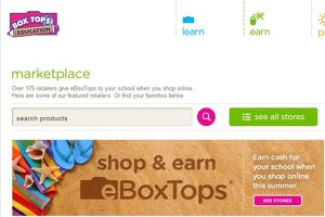 Box Tops For Education Marketplace