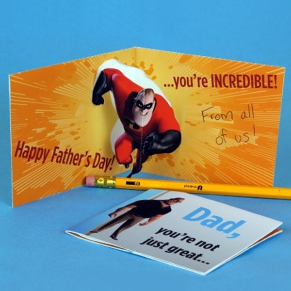 Father's Day Card Idea For Kids