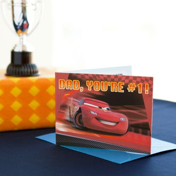 Father's Day Card Idea For Kids Cars