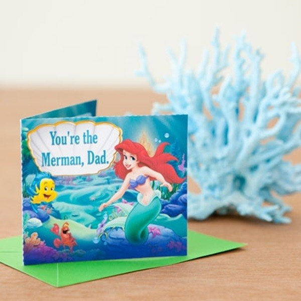 Father's Day Card Idea For Kids Disney