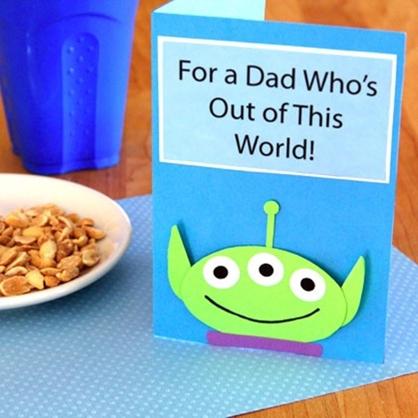 Father's Day Card Idea For Kids Toy Story