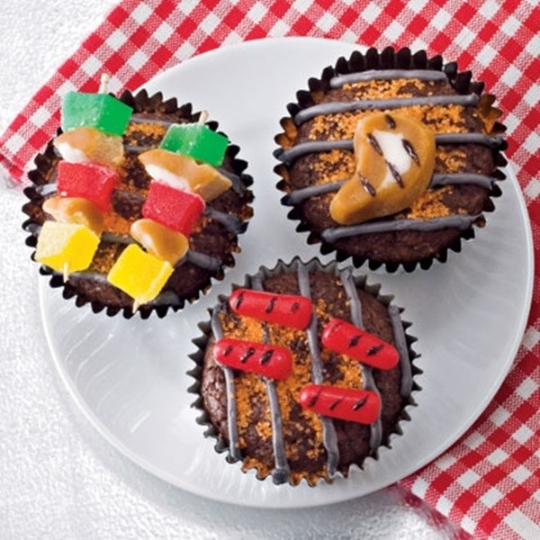 Father's Day Cupcakes - For The King Of The Grill