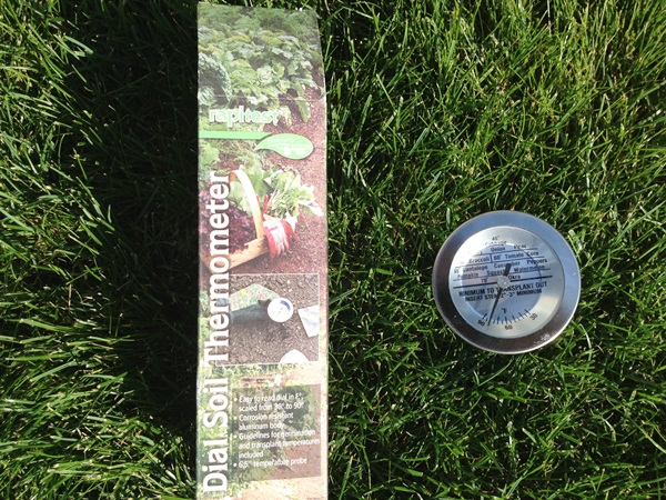 Safer Soil Thermometer